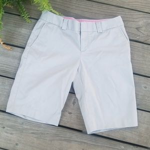 Banana Republic khaki bermuda shorts